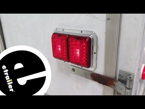 Bargman LED Surface Mount Double Tail Light Installation - etrailer.com