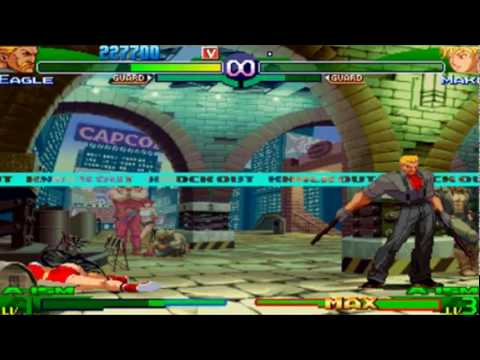 Street Fighter Alpha 3 Max - Eagle Playthrough 1/2