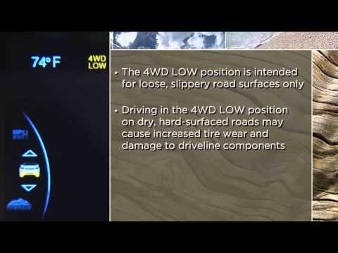 2015 Jeep Grand Cherokee | Four-Wheel Drive Operation