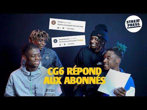 Youtube: Interview G.A.V   CG6 répond aux abonnés