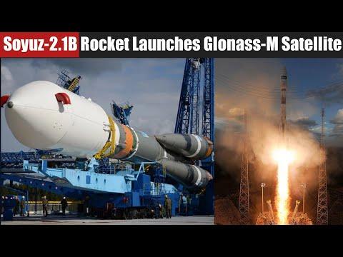 Soyuz-2.1B Carrier Rocket Launches Glonass-M Satellite  from Plesetsk Cosmodrome