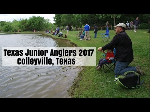 Fishing and Fun at Texas Junior Anglers Colleyville 2017
