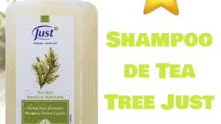 Shampoo y tónico de tea tree Just