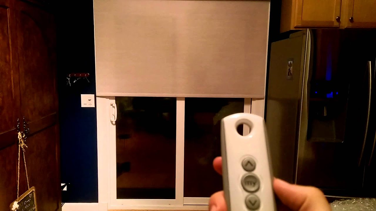 Motorized z wave bali blinds youtube for Z wave motorized blinds