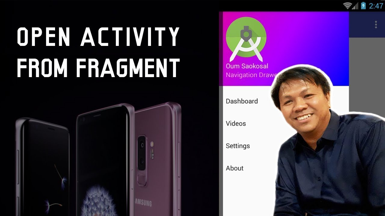 How to Open Activity from Fragment in Android  – Navigation Drawer