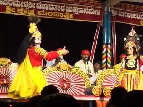 Yakshagana mandarthi mela Kusha lava