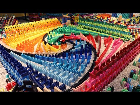 35,000 DOMINOES - Domino World 2019