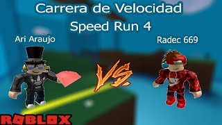 Roblox Loquendo | Speed Run 4 | Versus de amigos