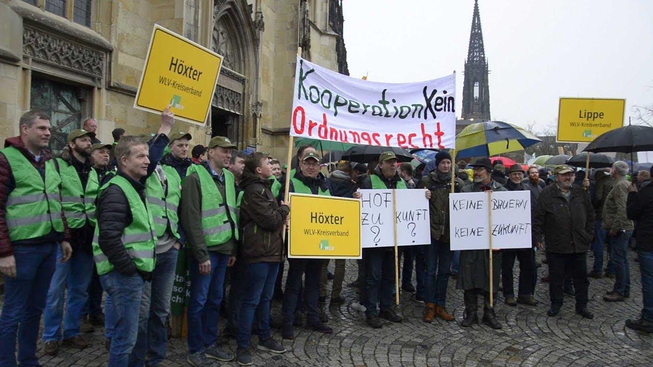 Bauern Protest