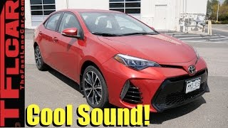 Listen To The Crazy TRD Exhaust On This 2017 Toyota Corolla