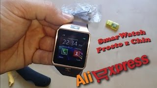 Zakupy z Chin AliExpress #6 SmartWatch UNBOXING