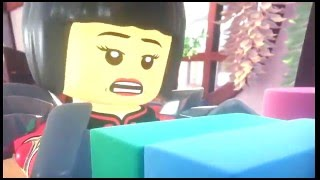 Lego Ninjago Nya and Cole (Accidentally In Love)