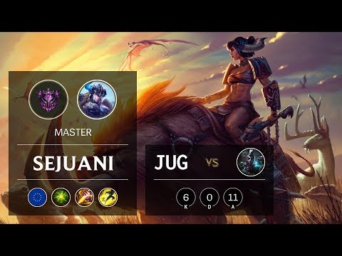 Sejuani Jungle vs Ekko - EUW Master Patch 9.21