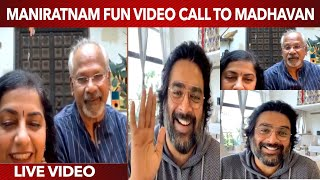Mani Ratnam & his Wife Ultimate Video Call to Madhavan   Super Cool Live Chat   Wetalkiess