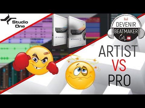 STUDIO ONE 3 : COMPARATIF des versions ARTIST et PROFESSIONAL