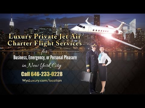 Best Private Jet Charter Flight New York City Call 646-233-0228