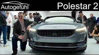 Polestar 2 mid-size sedan EV REVIEW - Autogefühl