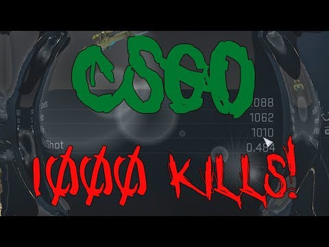 [CS:GO] SLAUGHTERING MY WAY TO 1000 KILLS WITH THE AWP
