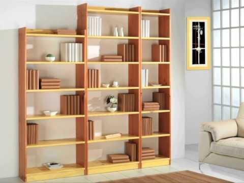 Como hacer estanterias decorar con palets estanteras y - Como hacer estantes de madera ...