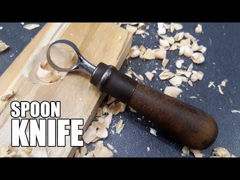 Making a Simple Spoon Carving Knife That Anyone Can Make