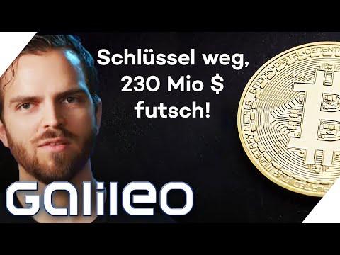 Crypto-Pechvogel! 230-facher Bitcoin-Millionär verliert sein Konto! | Galileo | ProSieben