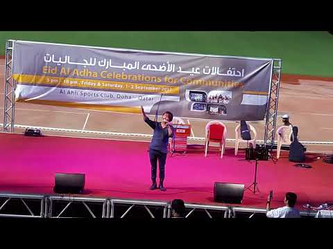 Rajesh Payal Rai live performance in Qatar 2073