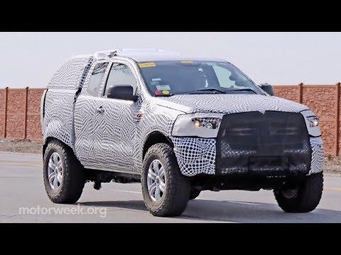 2020 Ford Bronco Spied (Video) | MotorWeek Eye Spy