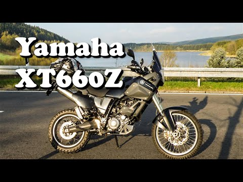 The Best Middleweight Adventure Motorcycles - Yamaha XT 660 Z - Test Ride & Review