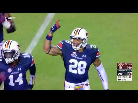 Auburn Football vs Mississippi State Highlights
