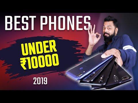TOP 6 MOBILE PHONES UNDER 10,000 BUDGET - FEB 2019 ⚡⚡⚡