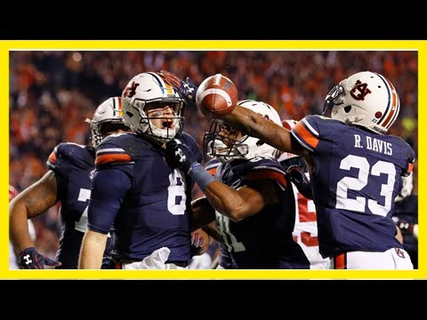Final Score Iron Bowl 2017 >> Iron bowl 2017 final score: auburn advances to the sec title game 26-14 victory - YouTube