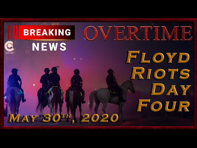 Breaking News: US Riots: Day Four