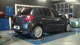* Reprogrammation Moteur * Renault Clio 3 dci 86cv @ 110cv Dyno Digiservices Paris