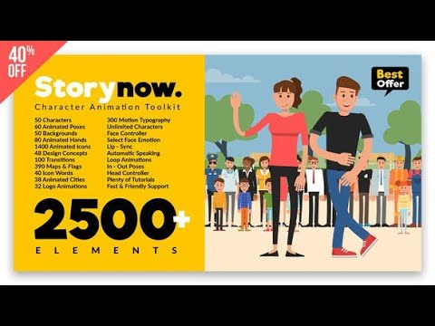 Story Now | Character Animation Explainer Toolkit 22706405