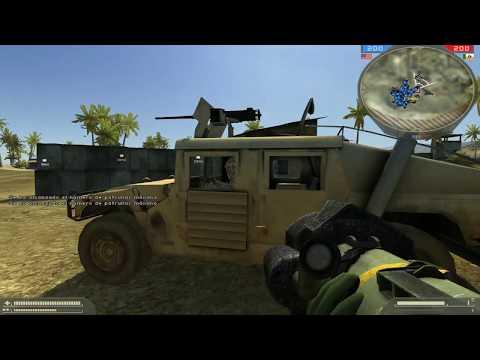 Battlefield 2 - Gulf of Oman / 64 bots / Veteran Difficulty