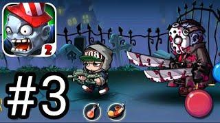 Zombie Diary 2: evolution - Gameplay 3 boss level 10 screenshot 2