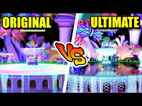 Super Smash Bros. Ultimate - Retro Stage Comparison (Switch vs GameCube) thumbnail
