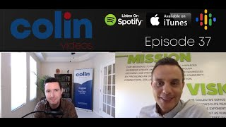 "Colin Videos 37: Leadership, masterminds and ""taking the plunge"" with Leon Barnes"