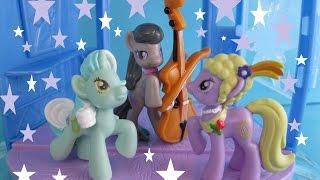 My Little Pony Concert in Elsa's Castle Blind Bag MLP Magic Clip Flip N' Switch Groovin' Hooves Set