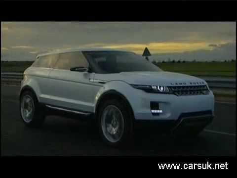 Land Rover Range Rover LRX Concept.