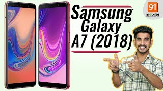 Samsung Galaxy A7 (2018): Review of specification and opinions [Hindi हिन्दी]