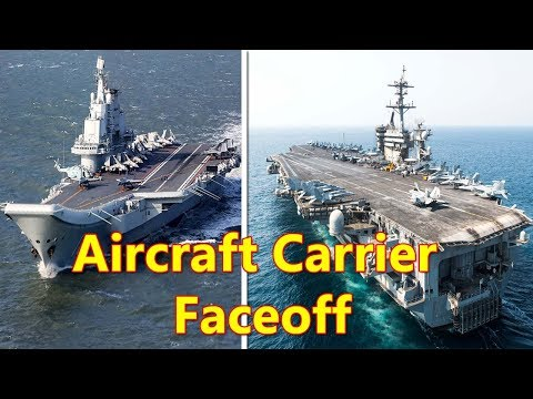 American and Chinese Carriers Both in South China Sea