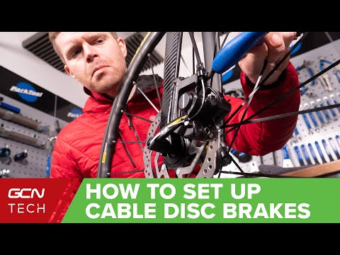 How To Set Up Cable Disc Brakes On A Bike| Bicycle Maintenance Basics thumbnail
