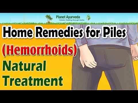 Home remedies for piles hemorrhoids natural treatment