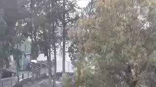 Άνοιξαν οι ουρανοί στην Λευκωσία