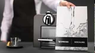 Кофе-машина Le Cube Nespresso: Очистка от накипи