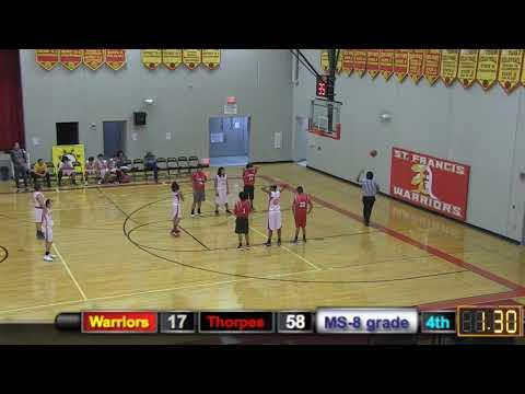 SFIS Warriors vs. Pine Ridge Thorpes (MS)