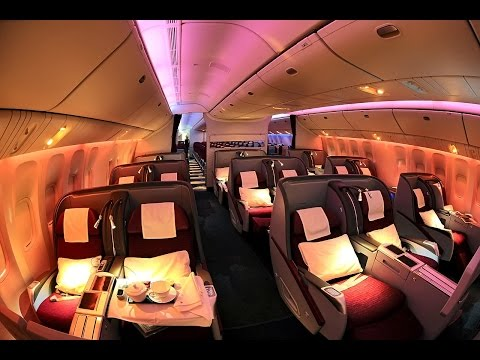 Qatar Airways A330 Business Class, London to Doha