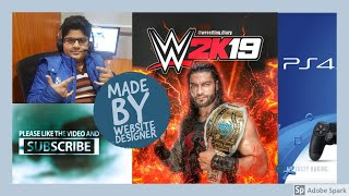 WWE2K19 PS4 Parental controls glitch - How to fix in hindi