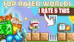 Rating Top Rated Growtopia Worlds for EXPENSIVE PRIZE!! (LUCKY!) OMG!! | GrowTopia